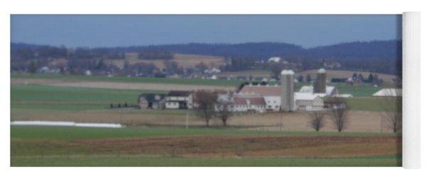 Amish Homestead 3 Yoga Mat