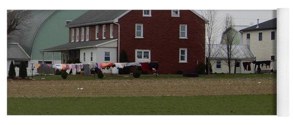 Amish Homestead 7 Yoga Mat