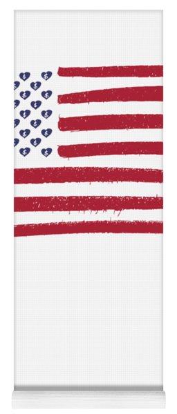 Amol Flag Tee Yoga Mat