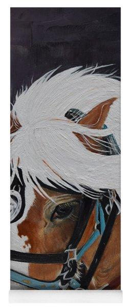 Amos - Haflinger - Horse Yoga Mat