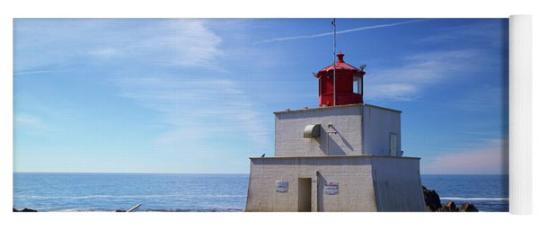 Amphitrite Point Lighthouse Yoga Mat