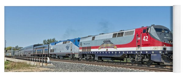 Amtrak 42  Veteran's Special Yoga Mat