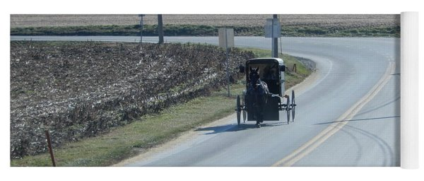 An Afternoon Buggy Ride Yoga Mat