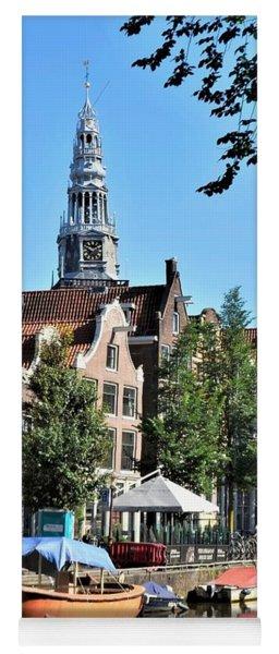 An Amsterdam Canal Yoga Mat