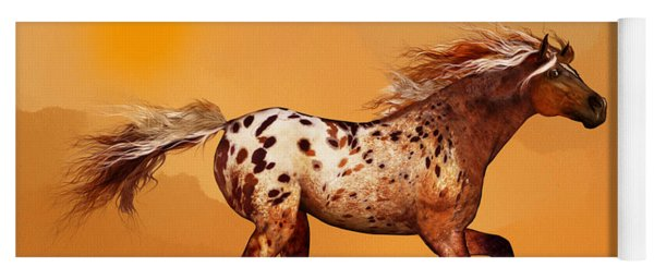 An Appaloosa Called Ginger Yoga Mat