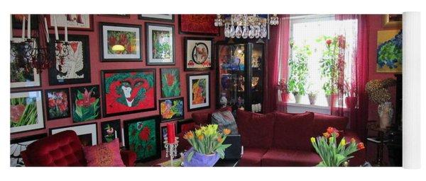 An Artists Livingroom Yoga Mat