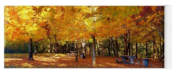 An Autumn Place To Rest Yoga Mat