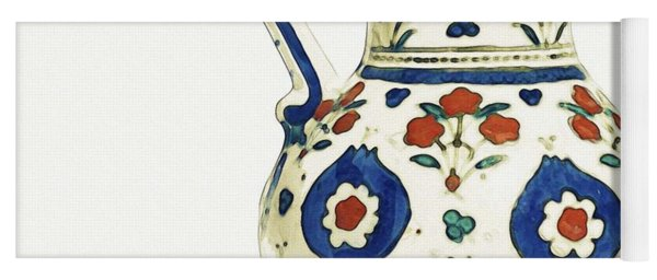 An Ottoman Iznik Style Pottery Polychrome, By Adam Asar, No 1 Yoga Mat