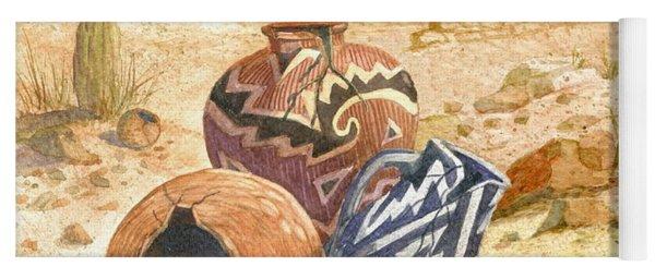 Anasazi Remnants Yoga Mat