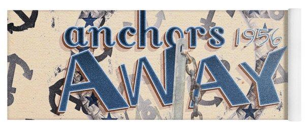 Anchors Away 1956 Yoga Mat