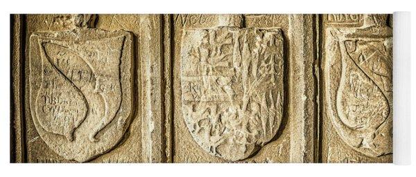 Ancient Carvings Yoga Mat