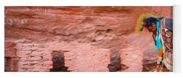 Ancient Ruins Yoga Mat