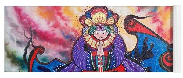 Flygende Lammet      And We Pray Yoga Mat