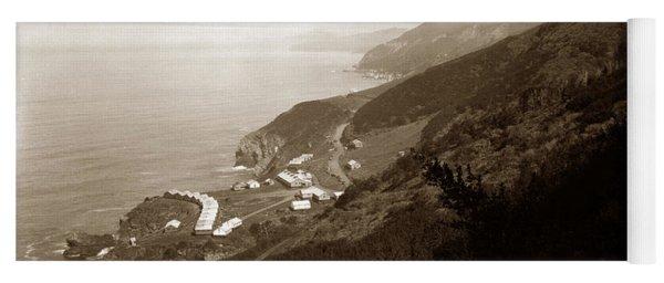 Anderson Creek Labor Camp Big Sur April 3 1931 Yoga Mat