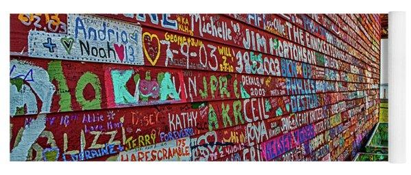 Anderson Warehouse Graffiti  Yoga Mat