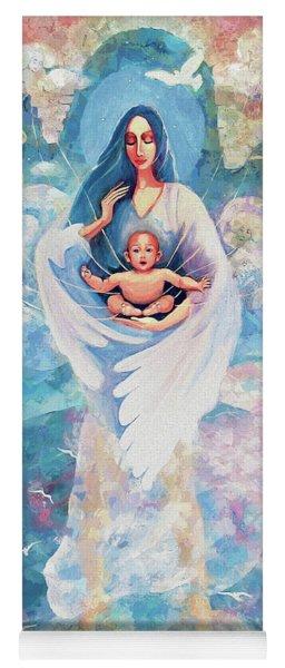Angel Blessing Yoga Mat