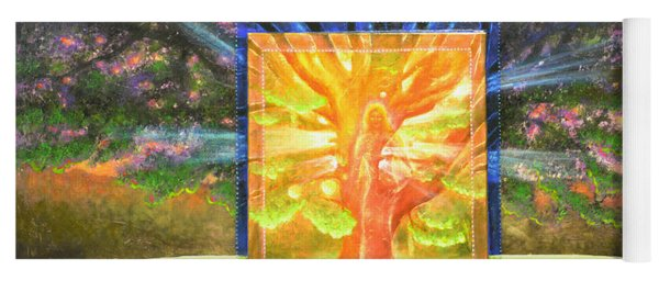 Angel Of The Trees Yoga Mat