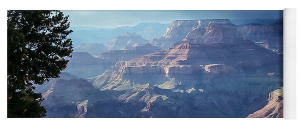 Angel S Gate And Wotan S Throne Grand Canyon National Park Yoga Mat