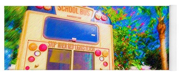 Anna Maria Elementary School Bus C131270 Yoga Mat