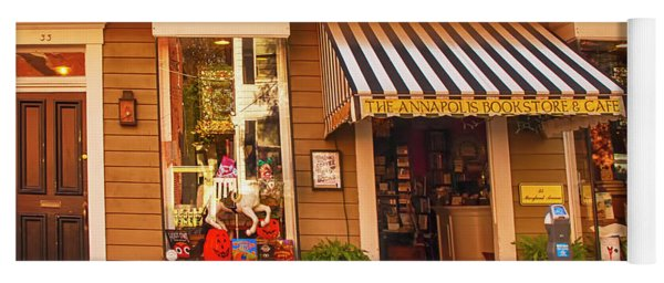 Annapolis Bookstore Yoga Mat