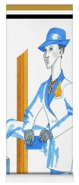 Anne Drogyny-- Lgbt-friendly Portrait Yoga Mat