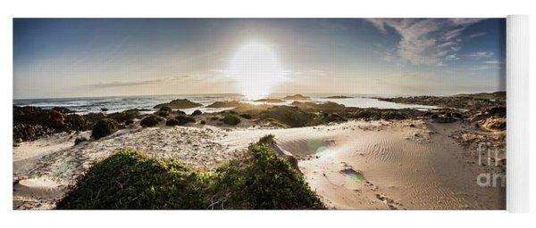 Another Beach Sunset Yoga Mat