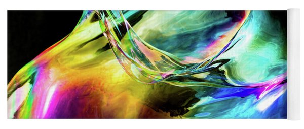 Another Bubble Abstract Yoga Mat
