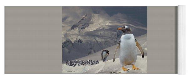 Antarctic Magesty Yoga Mat