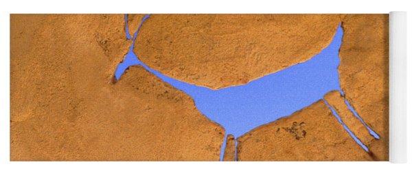 Antelope Petroglyph Yoga Mat