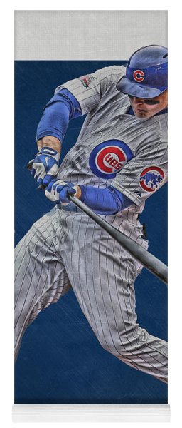 Anthony Rizzo Chicago Cubs Art 1 Yoga Mat