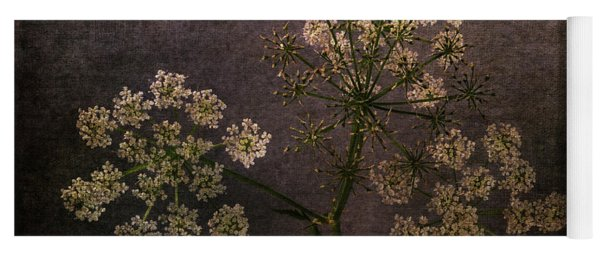 Yoga Mat featuring the photograph Anthriscus Sylvestris by Randi Grace Nilsberg