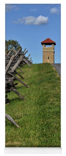 Antietam Battlefield Observation Tower Yoga Mat