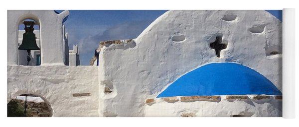 Yoga Mat featuring the photograph Antiparos Island Greece  by Colette V Hera  Guggenheim