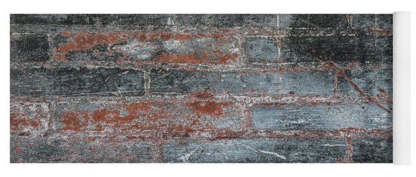 Antique Brick Wall Yoga Mat