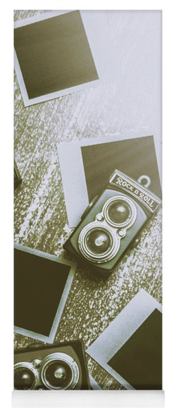 Antique Film Photography Fun Yoga Mat