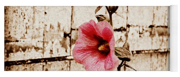 Antique Flower Yoga Mat