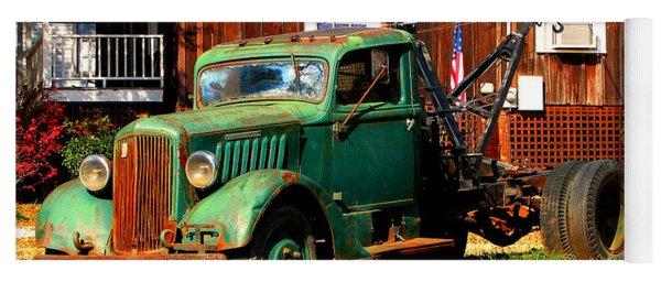 Antique Tow Truck Yoga Mat