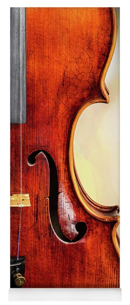 Antique Violin 1732.23 Yoga Mat