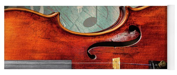 Antique Violin 1732.24 Yoga Mat