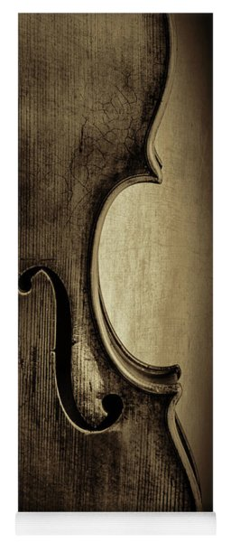 Antique Violin 1732.33 Yoga Mat