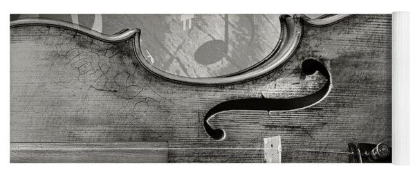 Antique Violin 1732.35 Yoga Mat