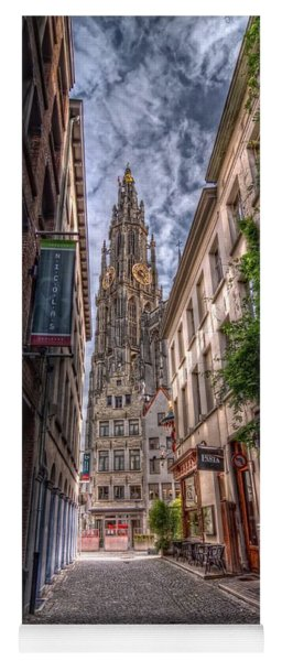 Antwerp Cathedral Yoga Mat