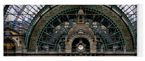 Antwerp Train Terminal Yoga Mat