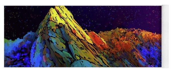 Anza Borrego Desert Peak Yoga Mat