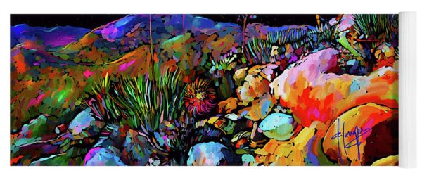 Anza Borrego Desert Rocks Yoga Mat