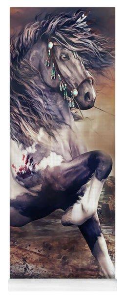 Apache War Horse Yoga Mat