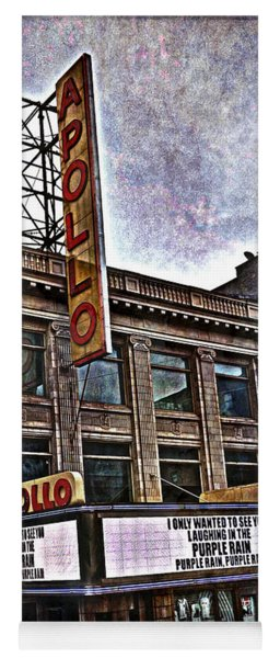 Apollo Theatre, Harlem Yoga Mat
