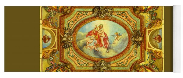 Apollon French Classical Baroque Painting By Pierre Du Puis 1678 Louis X I V Period Yoga Mat