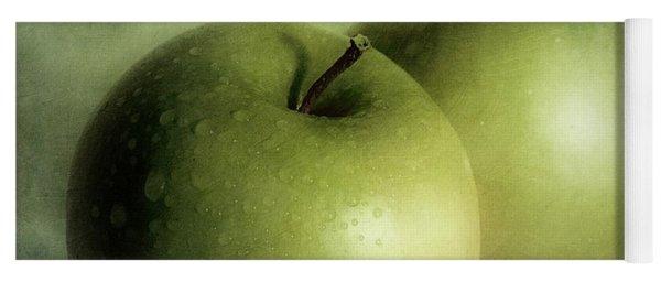 Apple Painting Yoga Mat