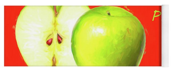 Apple Pie Yoga Mat